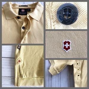 Victorinox Shirts - Victorinox Swiss Army Prima Cotton Golf Polo Shirt